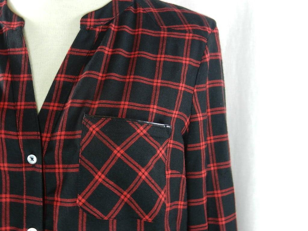 chemise_carreaux_rouge_noir_caroll