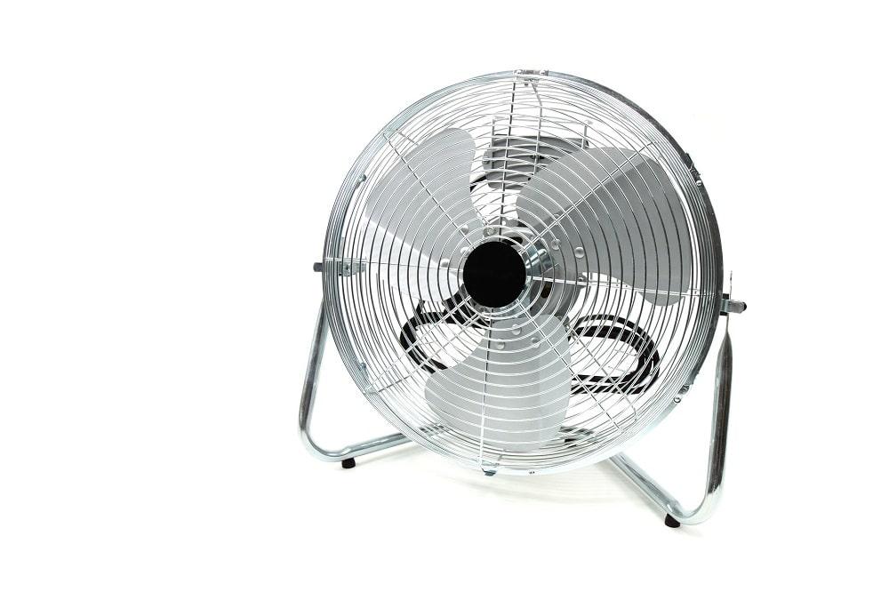 chaleur au bureau ventilateur