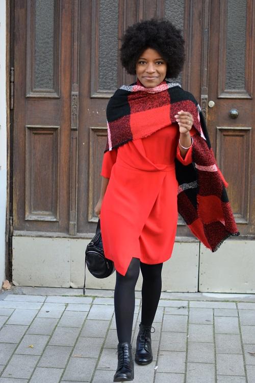 écharpe en laine facon cape2
