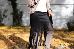 details jupe a franges automne