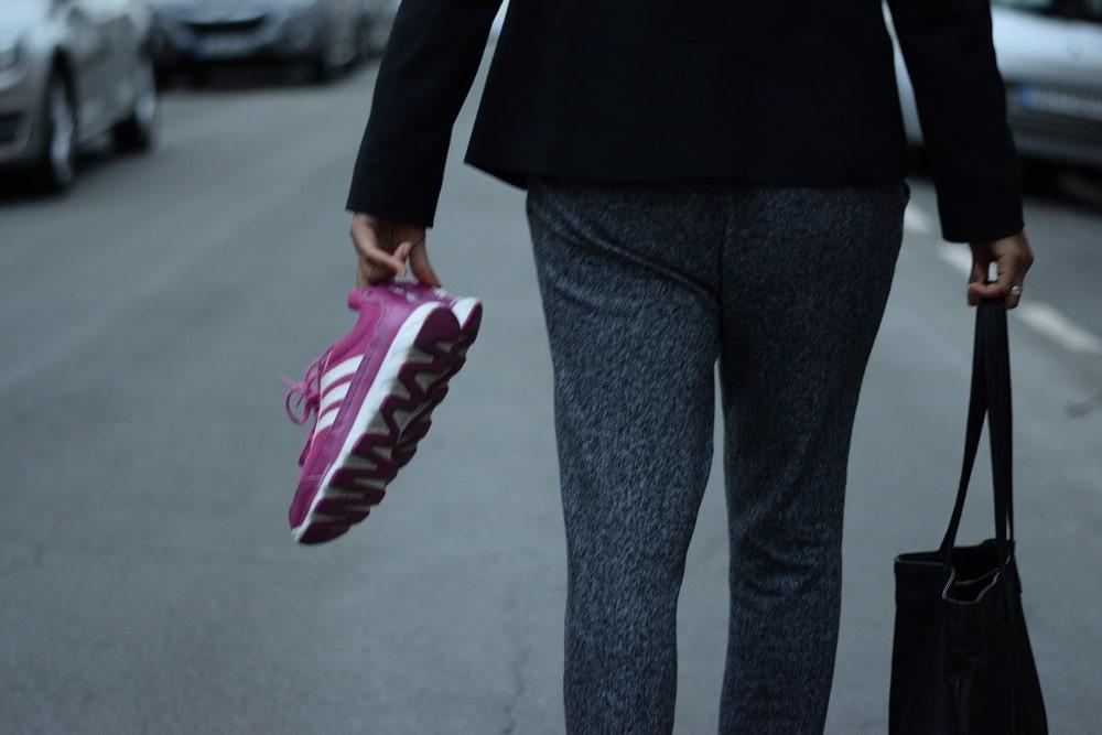 jogging au bureau sport