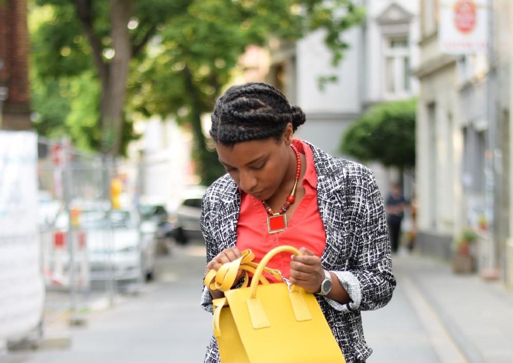 sac à main jaune été