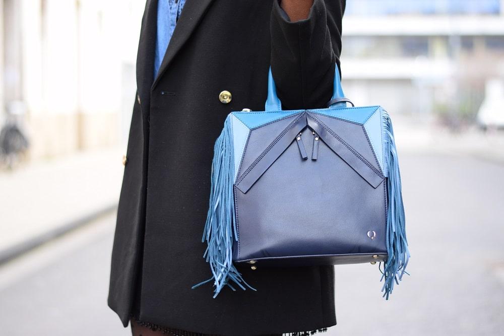 sac à main - bleu focus