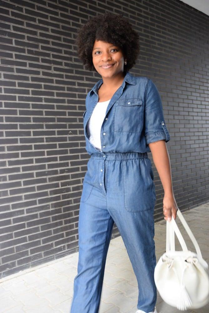 Porter une combinaison en jean au bureau deadlines dresses - Quelles chaussures avec une combinaison noire ...
