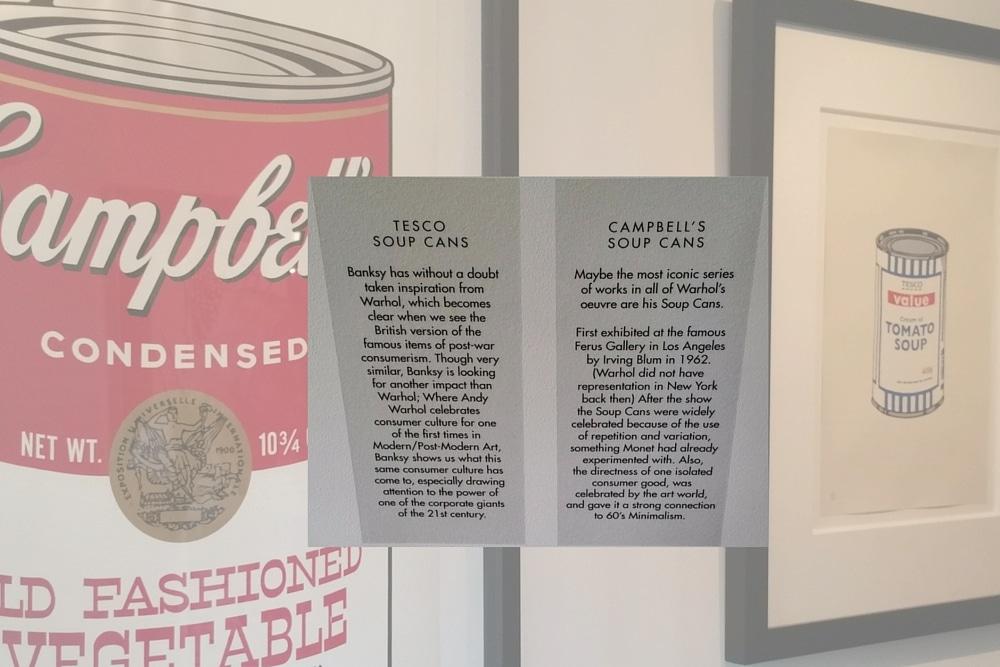 Banksy s'inspire de Warhol