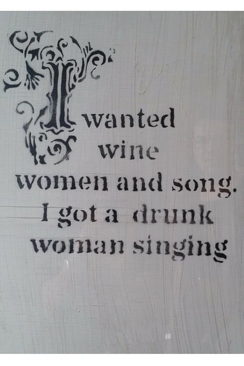 banksy drunkwomansinging