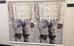 tenue correcte exigée affiche métro paris