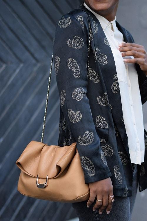 jean mom détails veste kimono