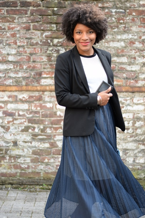 jupe plissée féminine