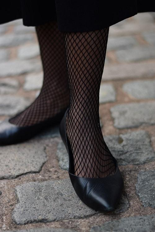 collant résille jupe culotte
