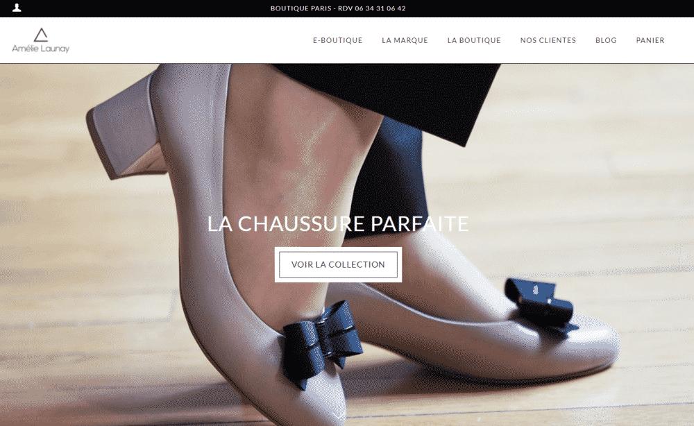 Chaussures pour femmes actives - Amélie Launay