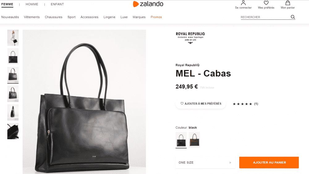 Royal RepubliQ MEL - Cabas - black - ZALANDO.FR