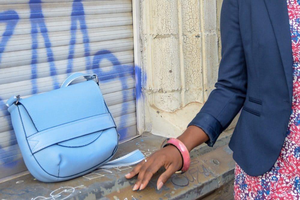 sac a main bleu ciel
